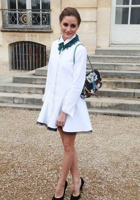 白色衬衫裙的6种气质路线穿搭